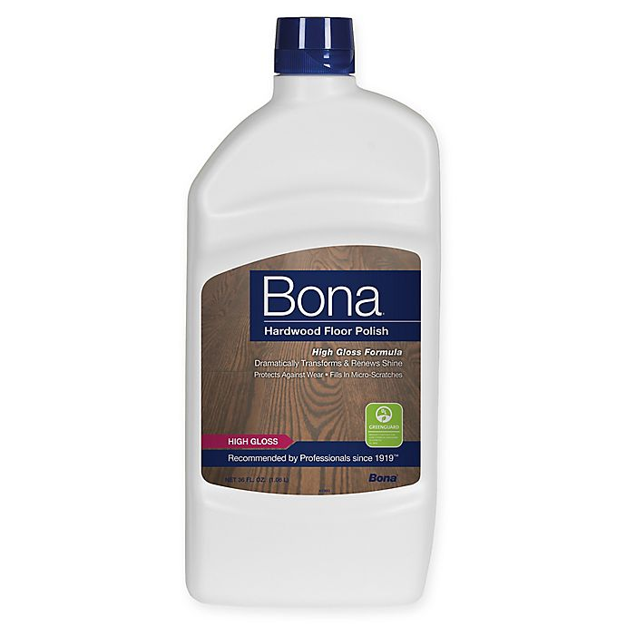 Alternate image 1 for Bona® High Gloss Hardwood Floor Polish 36 oz.