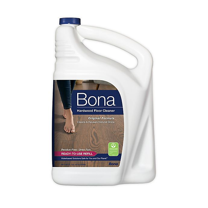 Alternate image 1 for Bona® Hardwood Floor Cleaner Refill 160 oz.
