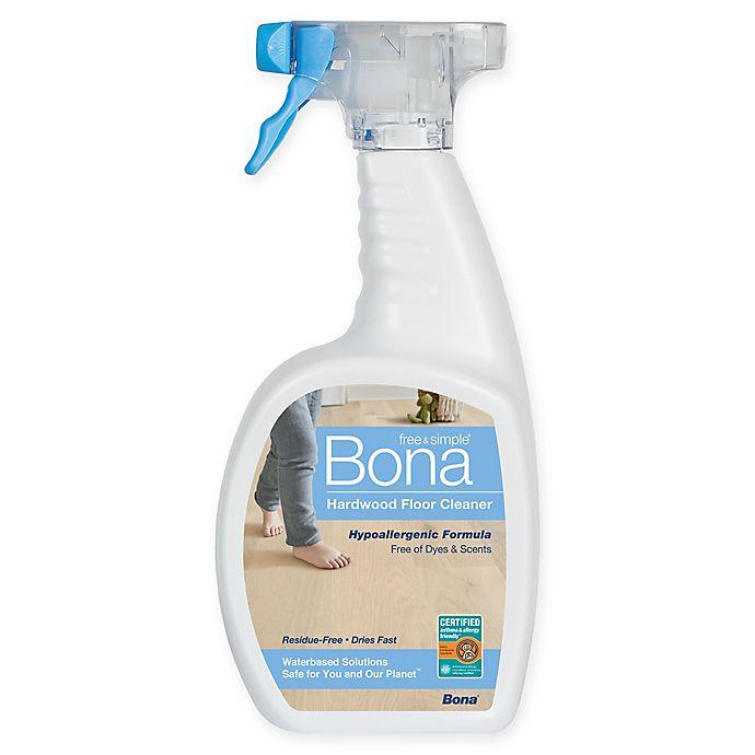 Alternate image 1 for Bona® Free & Simple Hardwood Floor Cleaner in 36-Ounce Spray Bottle