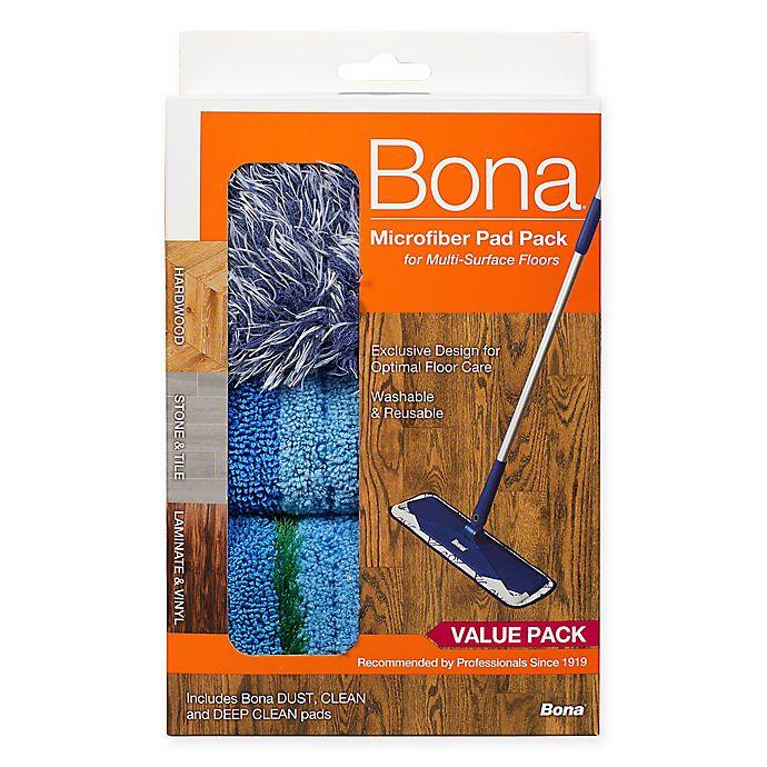 Alternate image 1 for Bona® Microfiber Pad Pack