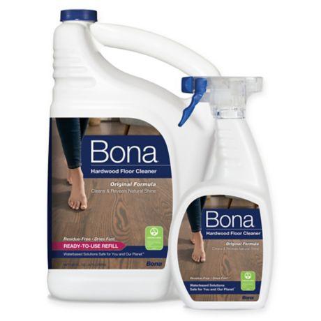 Bona 174 160 Oz Hardwood Floor Cleaner Refill With 22 Oz