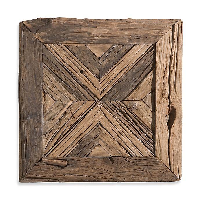 Alternate image 1 for Uttermost Rennick Reclaimed Wood Wall Art