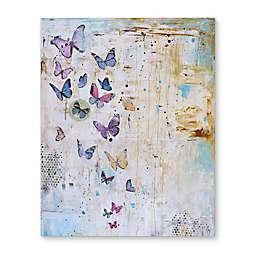 Butterfly Dance Canvas Wall Art
