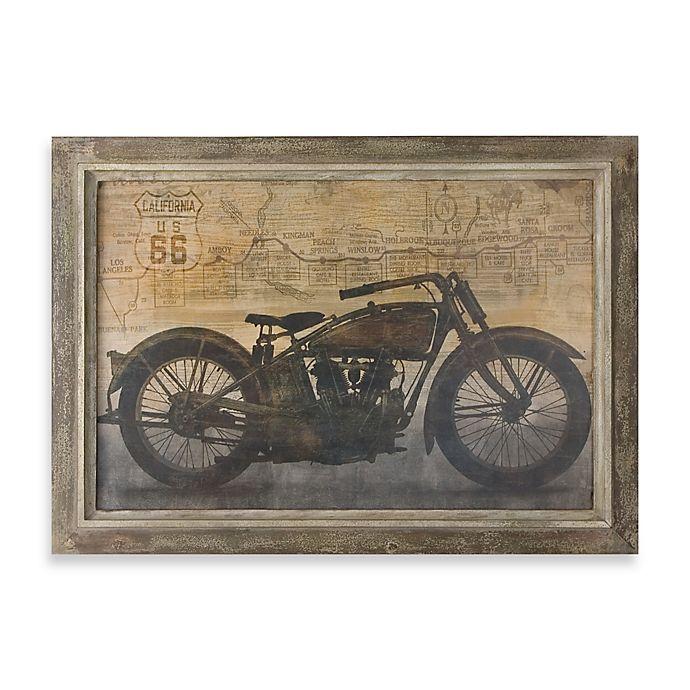 Alternate image 1 for Uttermost Ride Framed Vintage Art