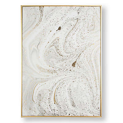 Graham & Brown Marble Luxe 20-Inch x 28-Inch Framed Wall Art