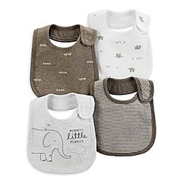 carter's® 4-Pack Animal Bibs