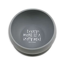 "Bella Tunno® ""Happy Meal"" Silicone Wonder Bowl in Grey"