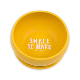 "Bella Tunno™ Silicone ""Snack So Hard"" Toddler Wonder Bowl in Yellow"