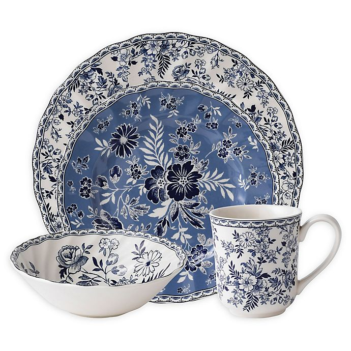 Alternate image 1 for Johnson Brothers Devon Cottage 4-Piece Place Setting