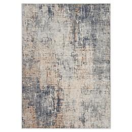 Nourison Rustic Textures Area Rug in Grey/Beige