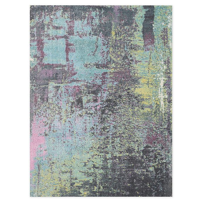 Alternate image 1 for Nourison Abstract Shag Area Rug