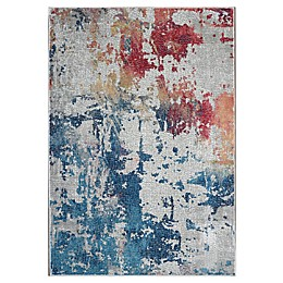 Nourison Global Abstract Multicolor Area Rug