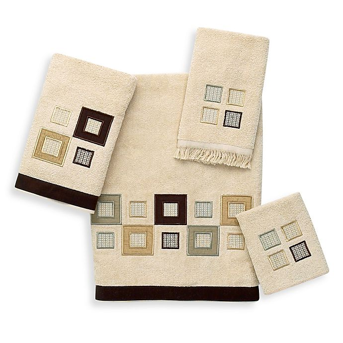 Alternate image 1 for Avanti Metropolis Fingertip Towel in Linen