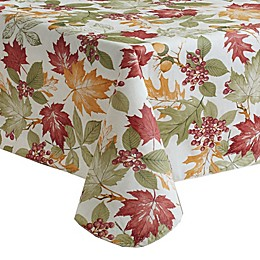 Fall Leaf Melody Vinyl Tablecloth