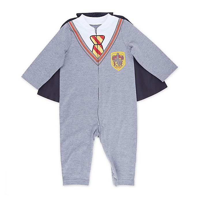 Alternate image 1 for Warner Bros® Harry Potter Caped Coverall in Grey