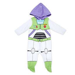 Disney® Buzz Lightyear Hooded Coverall in White