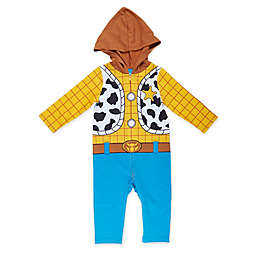 Disney® Toy Story Woody Toddler Coverall in Yellow