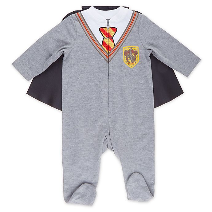 Alternate image 1 for Warner Bros® Harry Potter Footie in Grey