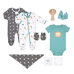 The Peanutshell™ Size 0-3M 10-Piece Lion Layette Set