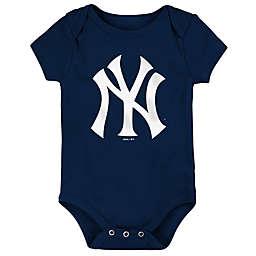 MLB New York Yankees Short Sleeved Bodysuit