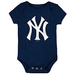 MLB New York Yankees Short Sleeved Bodysuit