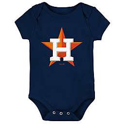 MLB Houston Astros Short Sleeved Bodysuit