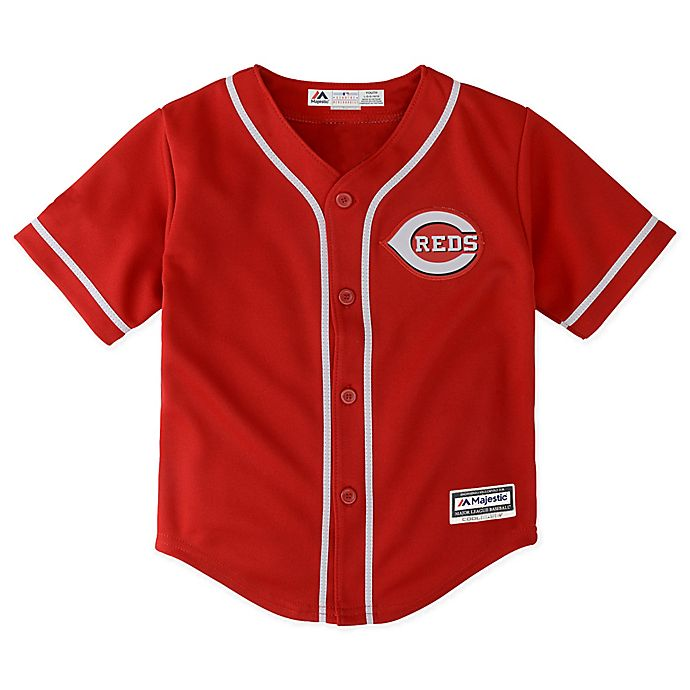 Alternate image 1 for MLB Cincinnati Reds Replica Jersey