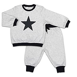 The PeanutShell™ Let's Play Star Pullover Top and Jogger Pant Set