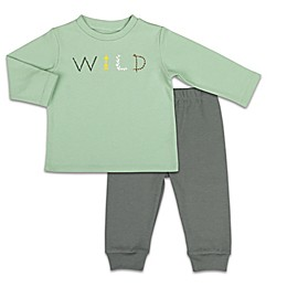 The Peanutshell™ Baby Camp 2-Piece Wild Shirt and Pant Set