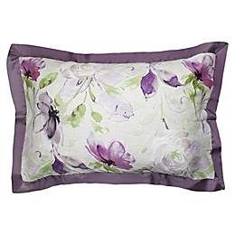 Canadian Living Sussex Standard Pillow Sham in Plum