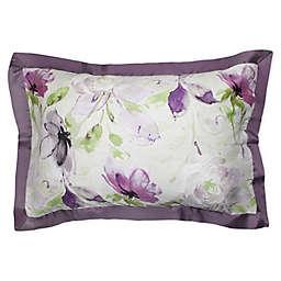 Canadian Living Sussex Standard Pillow Sham in Plum