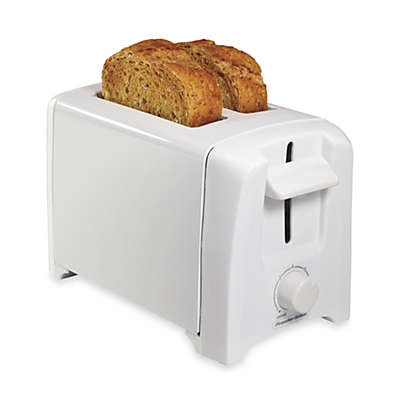 Proctor Silex® 2-Slice Extra Wide Slot Toaster in White