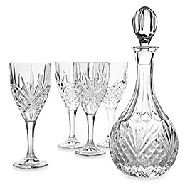 Godinger Dublin Crystal Wine 5-Piece Barware Set