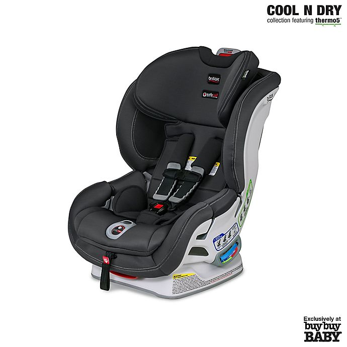 Alternate image 1 for BRITAX® Boulevard ClickTight™ Cool N Dry Convertible Car Seat in Grey
