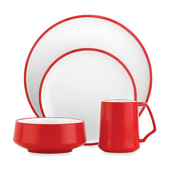 Alternate image 1 for Dansk® Kobenstyle Dinnerware Collection in Red