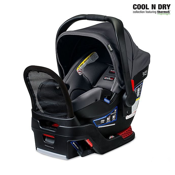 Alternate image 1 for BRITAX® Endeavours Cool N Dry Collection Infant Car Seat in Grey