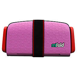 mifold Grab-and-Go Car Booster Seat in Pink