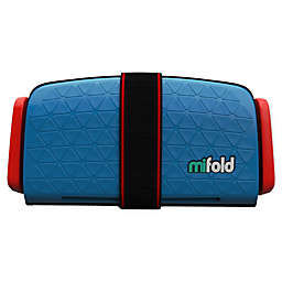 mifold Grab-and-Go Car Booster Seat in Blue