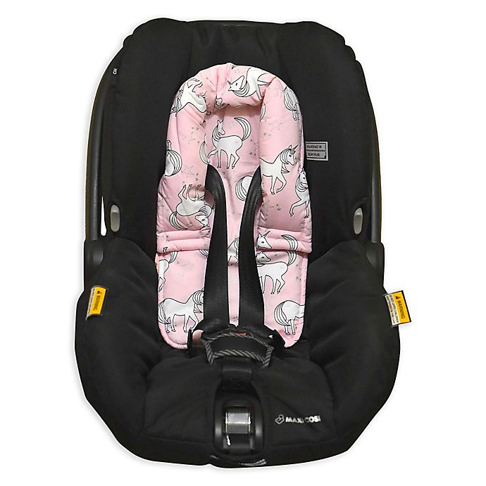 Alternate image 1 for Bambella Designs Unicorn Infant Head Support in Pink