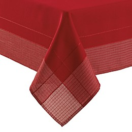 Crescent Tablecloth in Red