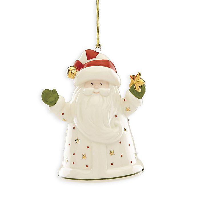 Alternate image 1 for Lenox® Santa Recordable Ornament