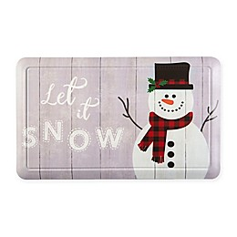 "Home Dynamix ""Let it Snow"" Snowman 18"" x 30"" Comfort Mat"