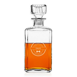 Cathy's Concepts Round Whiskey Decanter
