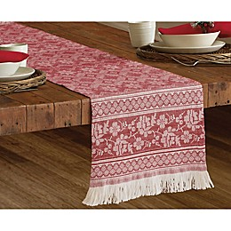 Bee & Willow Home™ Fair Isle Table Runner in Red