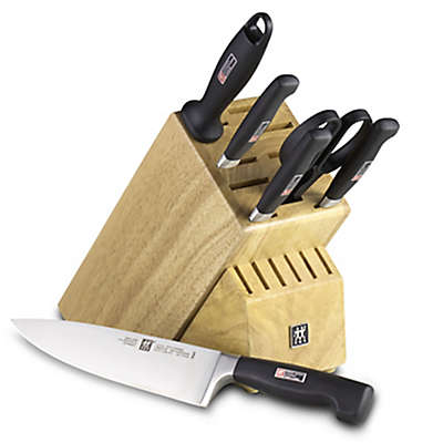 Zwilling J.A. Henckels Four Star 7-Piece Knife Block Set