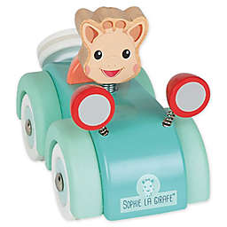 Janod Sophie la Giraffe® Bobble Head Toy Car