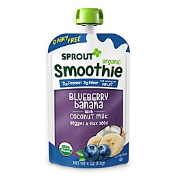 Sprout® 4 oz. Blueberry Banana with Coconut Milk Veggies and Flax Seed Organic Smoothie
