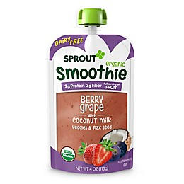 Sprout® 4 oz. Berry Grape with Coconut Milk Veggies and Flax Seed Organic Smoothie