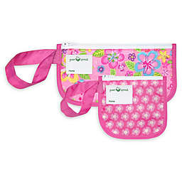 Green Sprouts® 2-Pack Floral Reusable Snack Bags in Pink