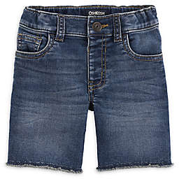 OshKosh B'gosh® Medium Wash Denim Short in Blue/White